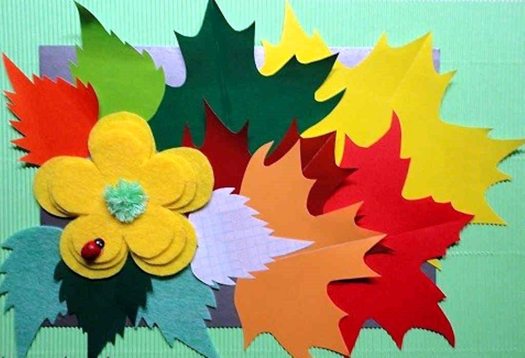 Открытки своими руками для детей из цветной бумаги